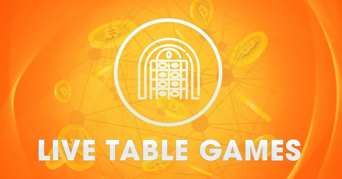 Bitcoin Live Table Games
