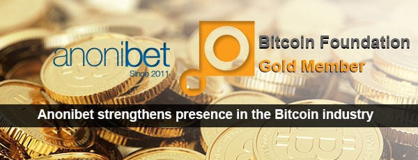 Anonibet Bit Foundation gold member