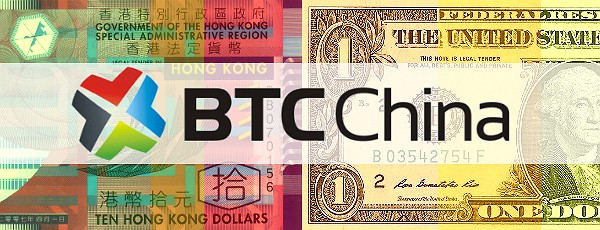 BTC China HKD USD