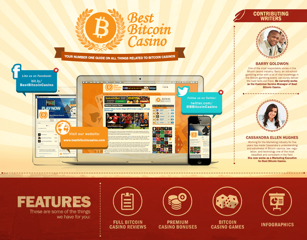 Best Bitcoin Casino Infographic