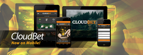 CloudBet Mobile Bitcoin Casino