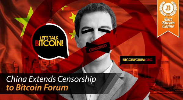 China BitcoinTalk Ban