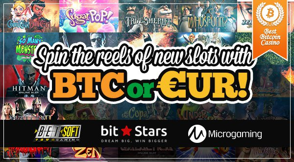 Bitstars Adds Microgaming, BetSoft Games; Welcomes EUR Payments