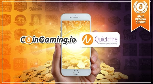 CoinGaming Adds Quickfire Mobile Games