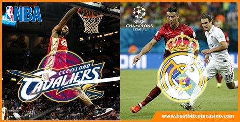NBA and UEFA Champions League