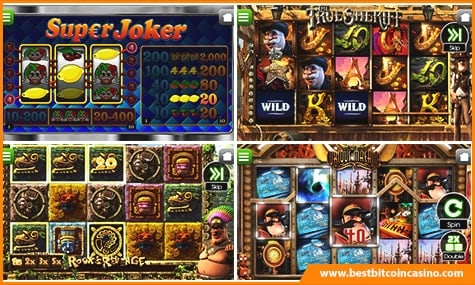 Bitcoin Casino Slots Showcase