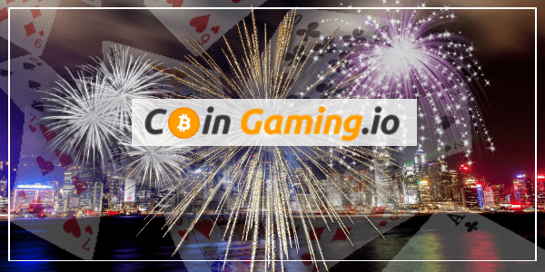 CoinGaming.io Starts To Set The Bar High