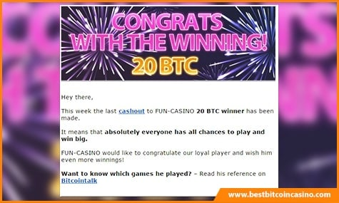 Fun-Casino Big Win