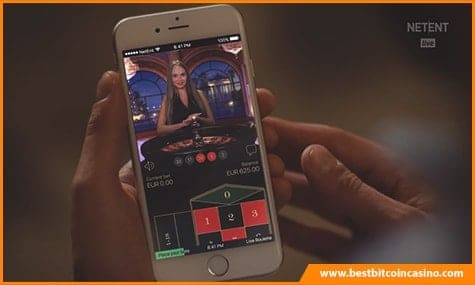 NetEnt Live Mobile Casino Game