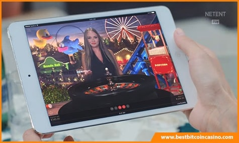NetEnt Live Casino Table