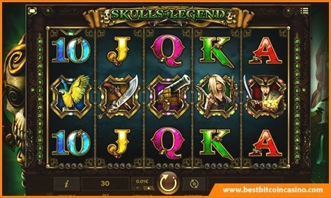 Skulls of Legend Compass Free Spins