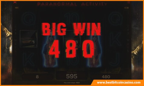 Paranormal Activity Slot Big Win