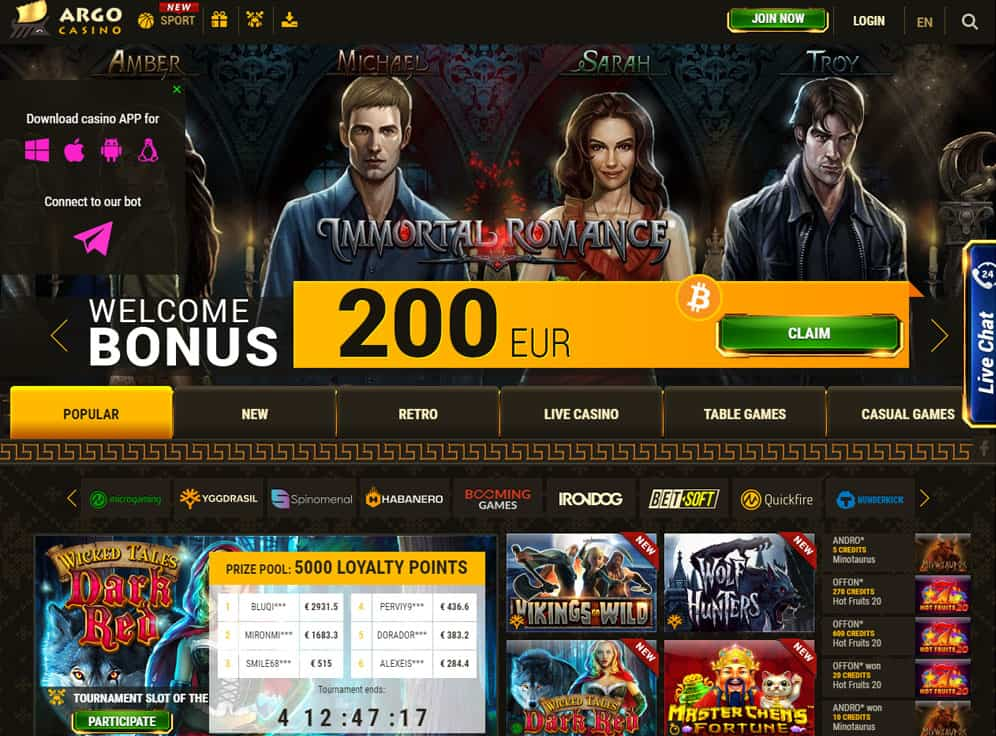 ArgoCasino Screenshot