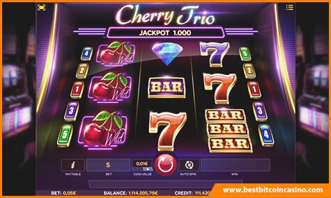 Cherry Trio Slot from iSoftBet