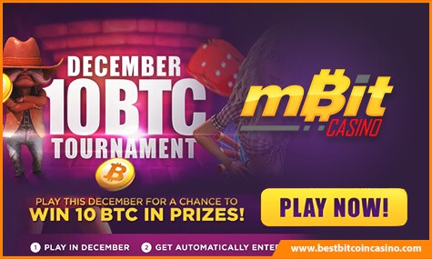 mBit Casino December Tournament