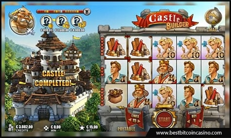 Castle Builder slot from Microgaming