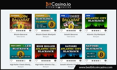 OneTouch Games on BitCasino.io