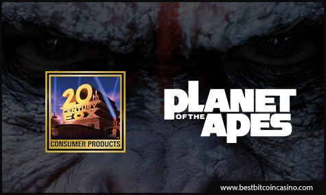 Planet of the Apes licensed by 20th Century Fox Consumer Products