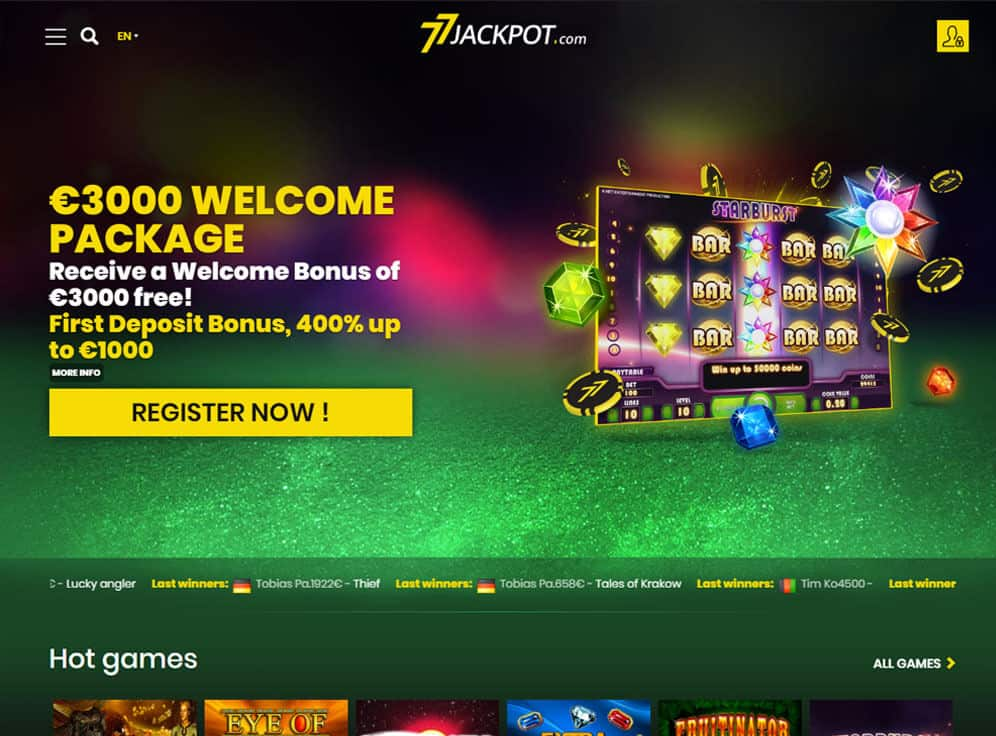 77Jackpot Screenshot