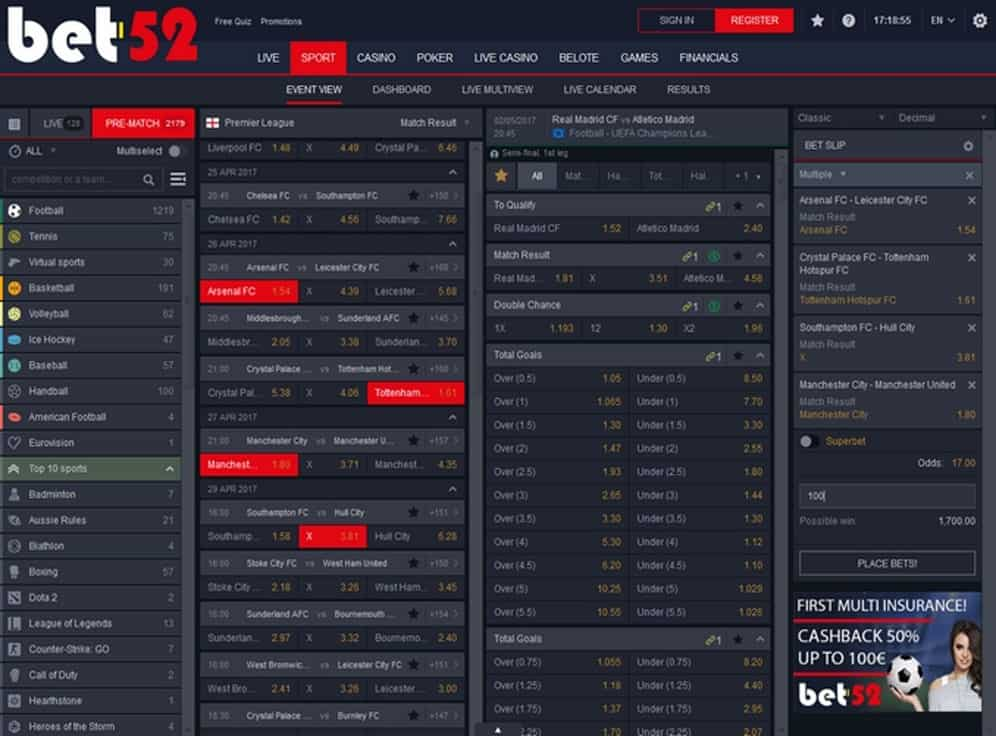 Bet-52 Screenshot