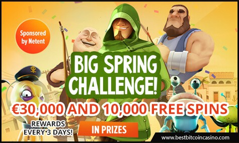 Playamo Casino Big Spring Challenge
