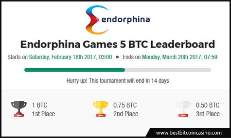 mBit Casino Endorphina Games 5 BTC Leaderboard