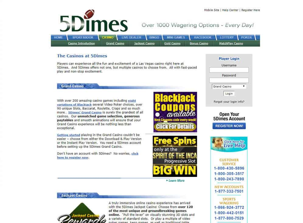 Does 5dimes Payout