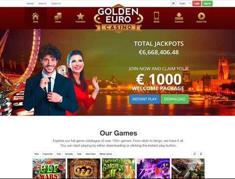 golden euro casino german