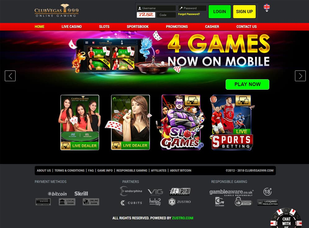 ClubVegas999 Screenshot