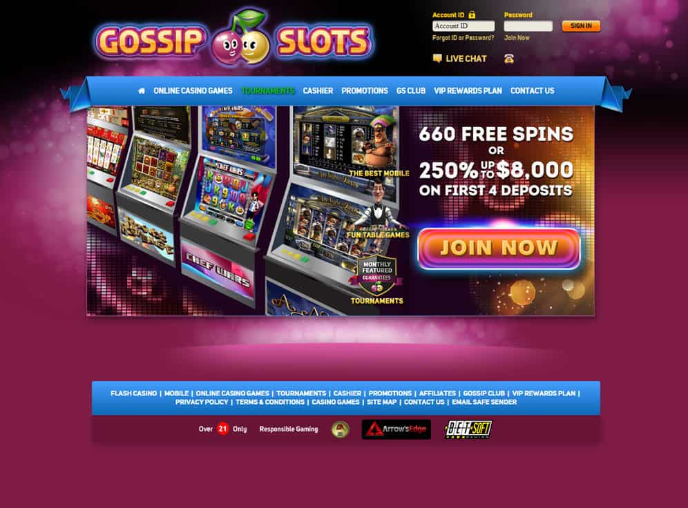 Gossip Slots Screenshot