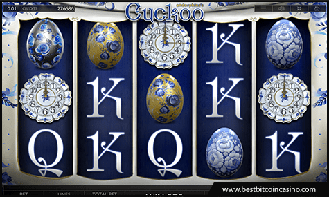 Cuckoo slot from Endorphina pays huge wins