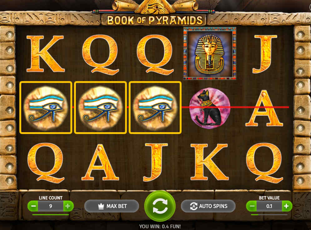 Book of Pyramids Slot #0