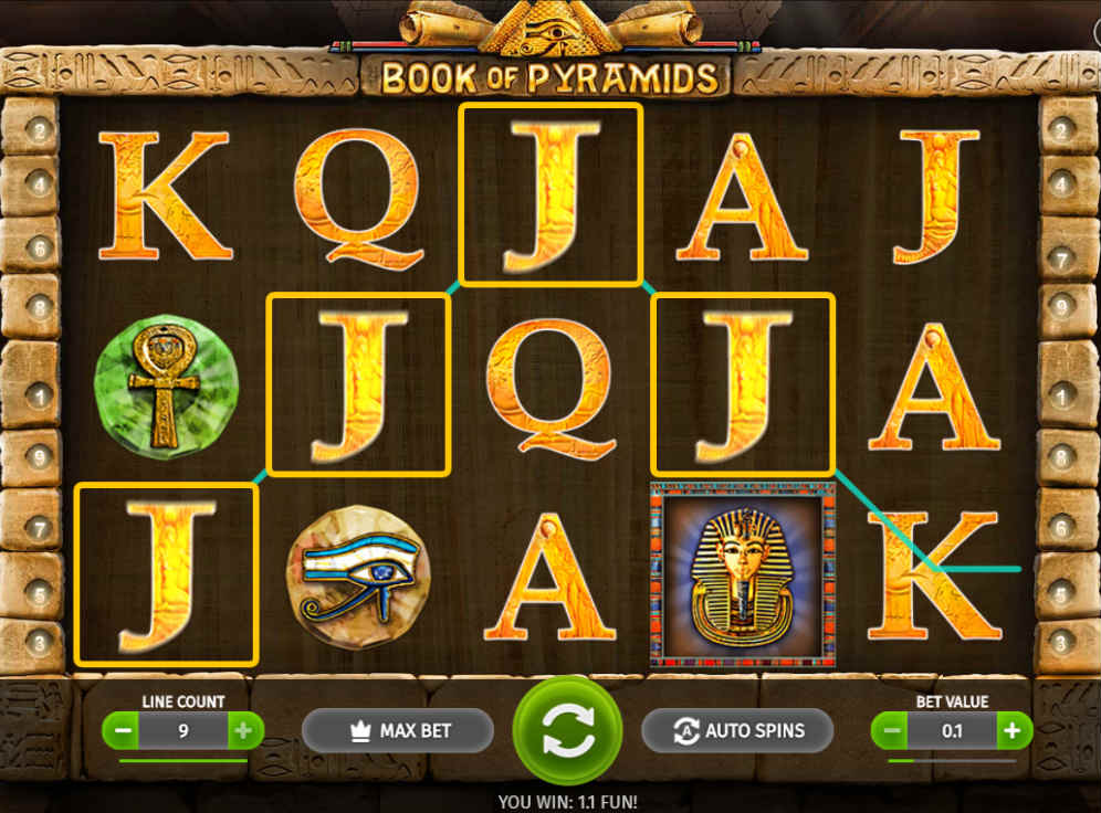 Book of Pyramids Slot #1
