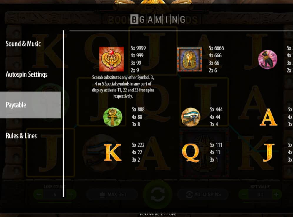 Book of Pyramids Slot #2