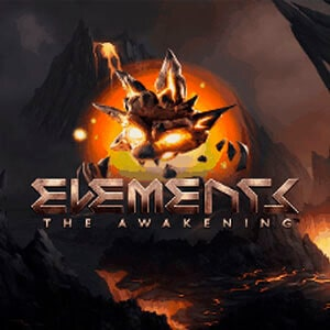 Elements: The Awakening Slot Logo