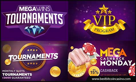 Megawins offers exciting promotions every month