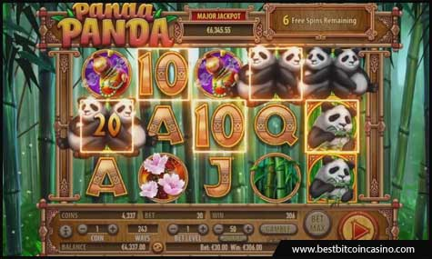 Panda Panda slot from Habanero pays wins both ways