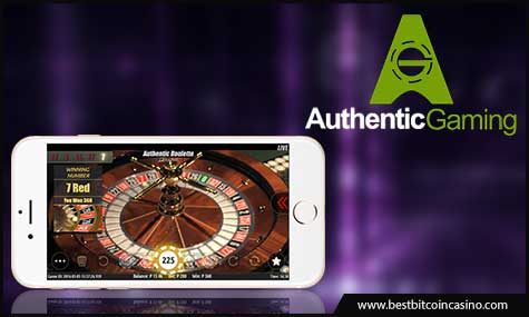 Authentic Gaming integrates Authentic Roulette into NYX Gaming OGS