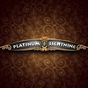 Platinum Lightning Slot Logo