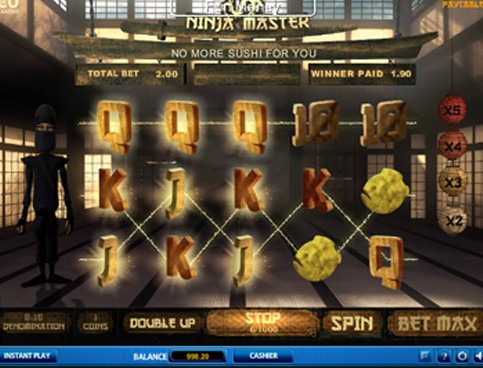Ninja Master Slot Machine - Play SkillOnNet Slots for Free