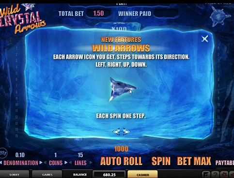Wild Crystal Arrows Slot - Try for Free Online