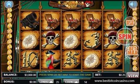 Liberty Slots features Caribbean Gold slot by WGS Technology