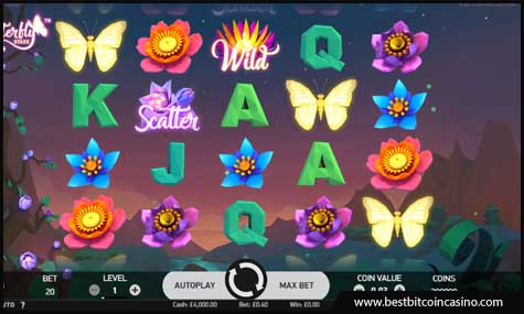 NetEnt launches new Butterfly Staxx slot