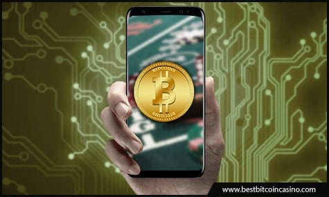 Play Bitcoin casino games in mobile apps