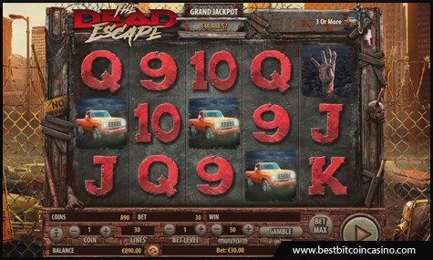 Habanero launches The Dead Escape Slots