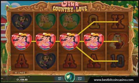 Microgaming launches Oink Country Love slots that comes with 160 free spins
