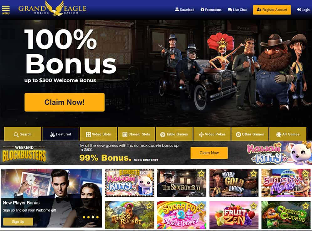 Grand Eagle Casino Review Games Ratings Best Bitco