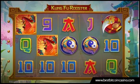 Realtime Gaming launches Kung Fu Rooster Slots