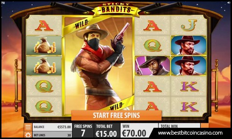 Quickspin launches Sticky Bandits slots