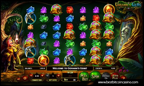 BetSoft Gaming launches Giovanni's Gems slots